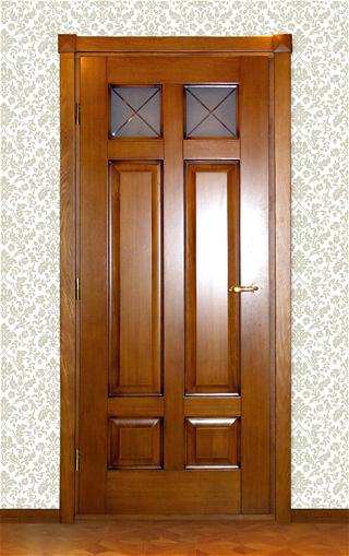 Дверь из массива дуба