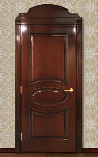 двери из дуба
