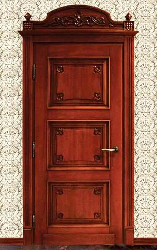 двери из массива от производителя