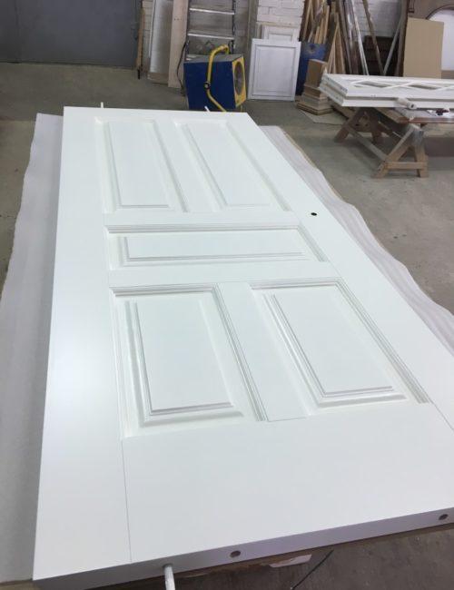 Производство дверей из массива